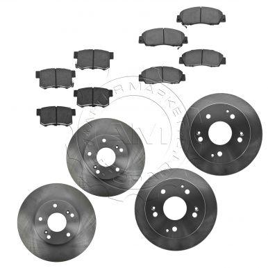 honda accord brake pad rotor kits at am autoparts. Black Bedroom Furniture Sets. Home Design Ideas
