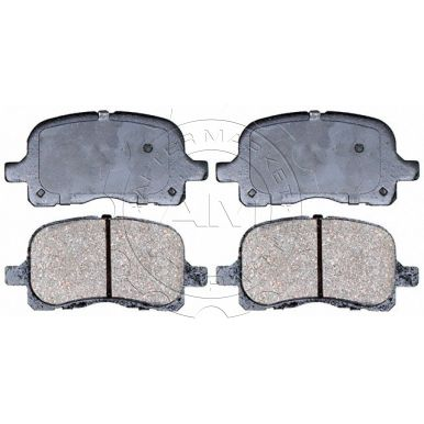 F /& R Chevrolet Prizm CERAMIC Brake Pads AND Shoes 2 Sets Fits Toyota Corolla