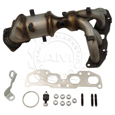 2007 2012 Nissan Altima Exhaust Manifold With Catalytic Converter U0026 Gasket  Kit L4 2.5L (excluding Hybrid Models) (excluding California Emissions)