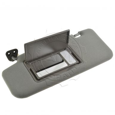 2003-2005 Nissan Murano Gray Sun Visor with Illuminated Mirror Driver Side  Nissan OEM 96401-CA01A 4a994867bf5