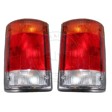 1992-94 Ford E150 E250 E350 Tail Light Pair AM-17601028