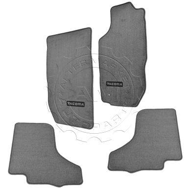 toyota tacoma floor mats liners at am autoparts. Black Bedroom Furniture Sets. Home Design Ideas