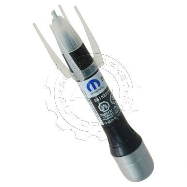 Dodge Jeep Chrysler Ram Fiat LAU Granite Crystal Metallic Touch-Up Paint  Pen & Brush Mopar 68183829AA AM-3415083844