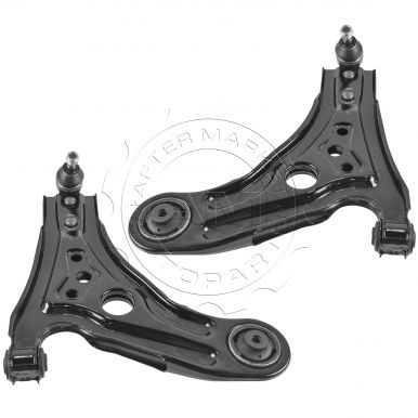Chevy Aveo Aveo 5 Pontiac G3 Wave Front Lower Control Arm with Ball Joint  Pair AM-1025366324