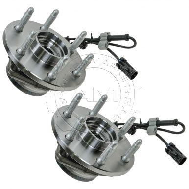 Chevy GMC Cadillac Front Wheel Bearing & Hub Assembly Pair AM-55551925