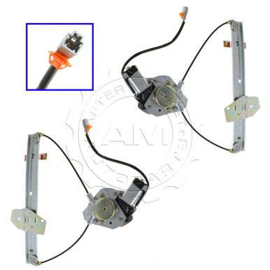 Dorman 741-745 Honda Civic Rear Passenger Side Window Regulator with Motor